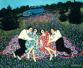 Double Date, 2002, 24 X 30 Inches