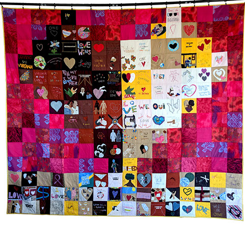 Loving Quilt, 2016. Photo by Lillis Taylor.