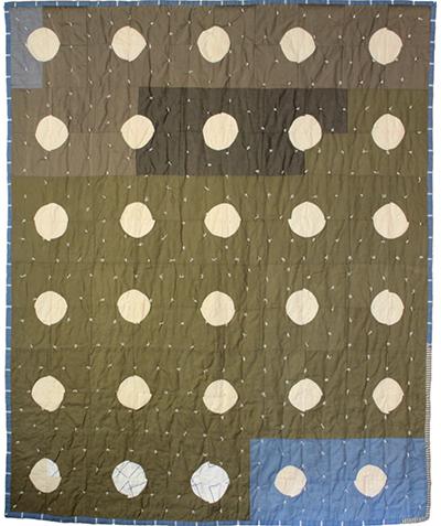 "South Summit Street II (Full Moons), 76"" x 88"""