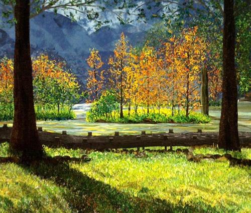 Beautiful Taiwan - Yilan Mingchi by Hsu Hsi-Chen