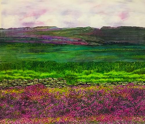 Purple Spring by Jackie Keirnan-Hale