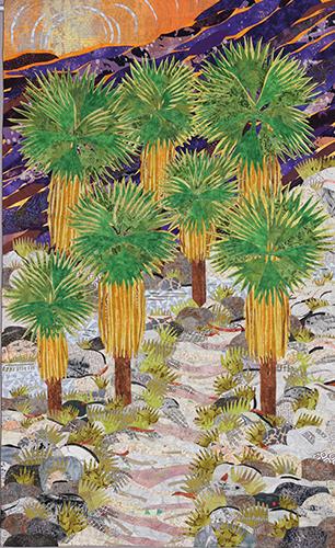 Palm Canyon, Palm Springs, CA by Roberta C. Lagomarsini