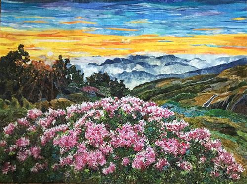 Beautiful Taiwan - Yushan Rhododendron in the Morning by Yu-Chen Llang